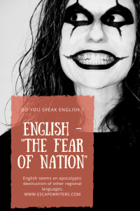 do you have fear of speaking English