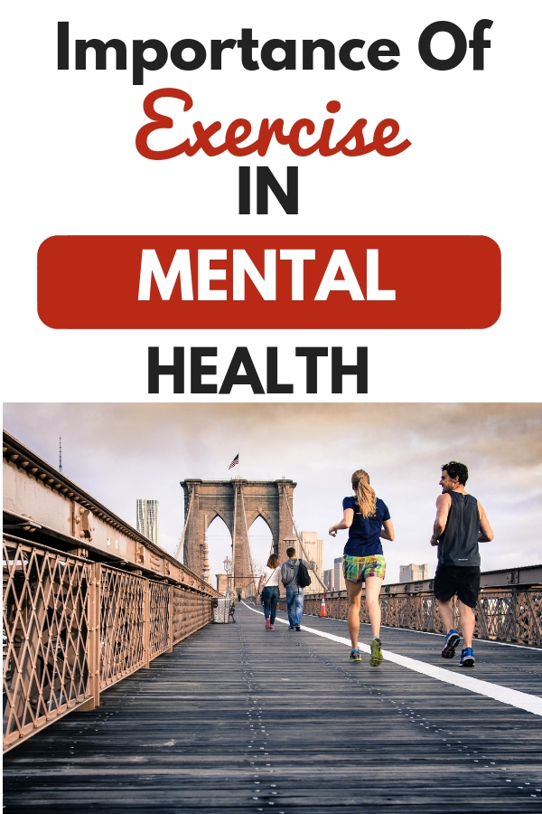 Importance of physical exercise in mental health