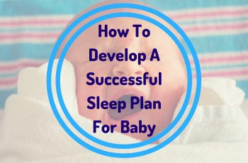 develop sleep plan for baby