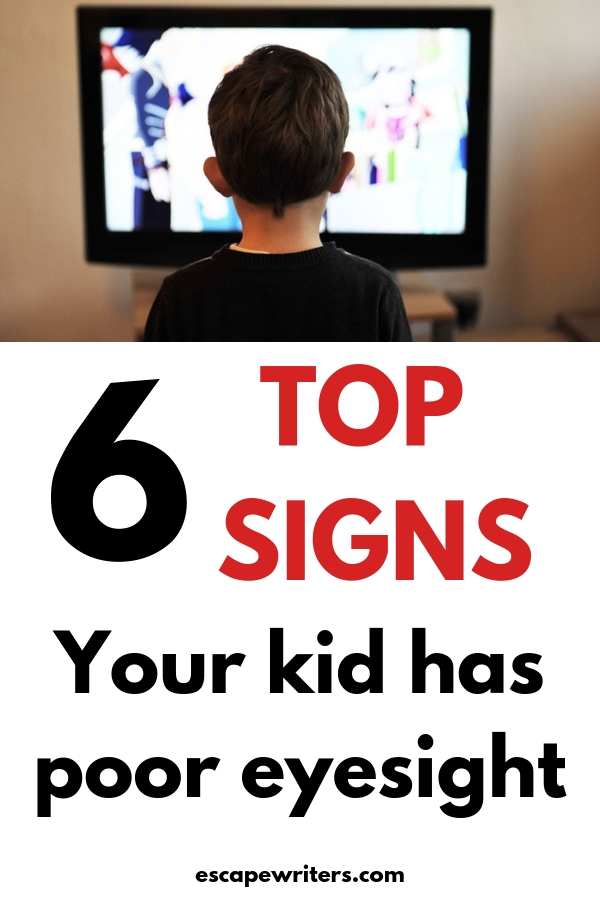 6 signs your kid or toddler have poor eyesight or vision problem