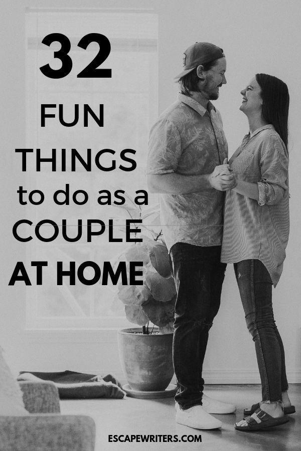 Fun things to do as a couple at home without spending money