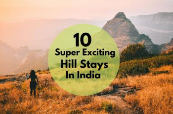 top hill stays in India for holidays