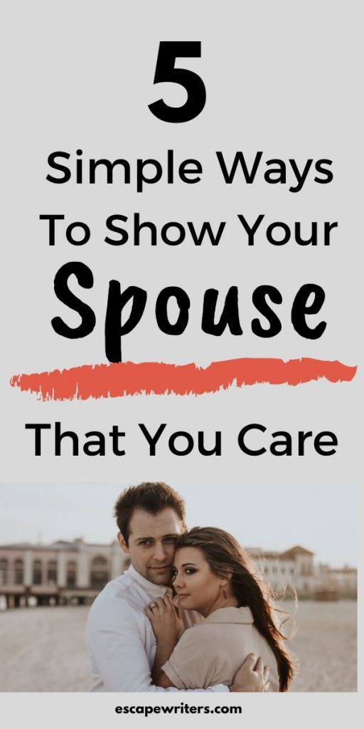 pin image for how to show your partner that you love and care.